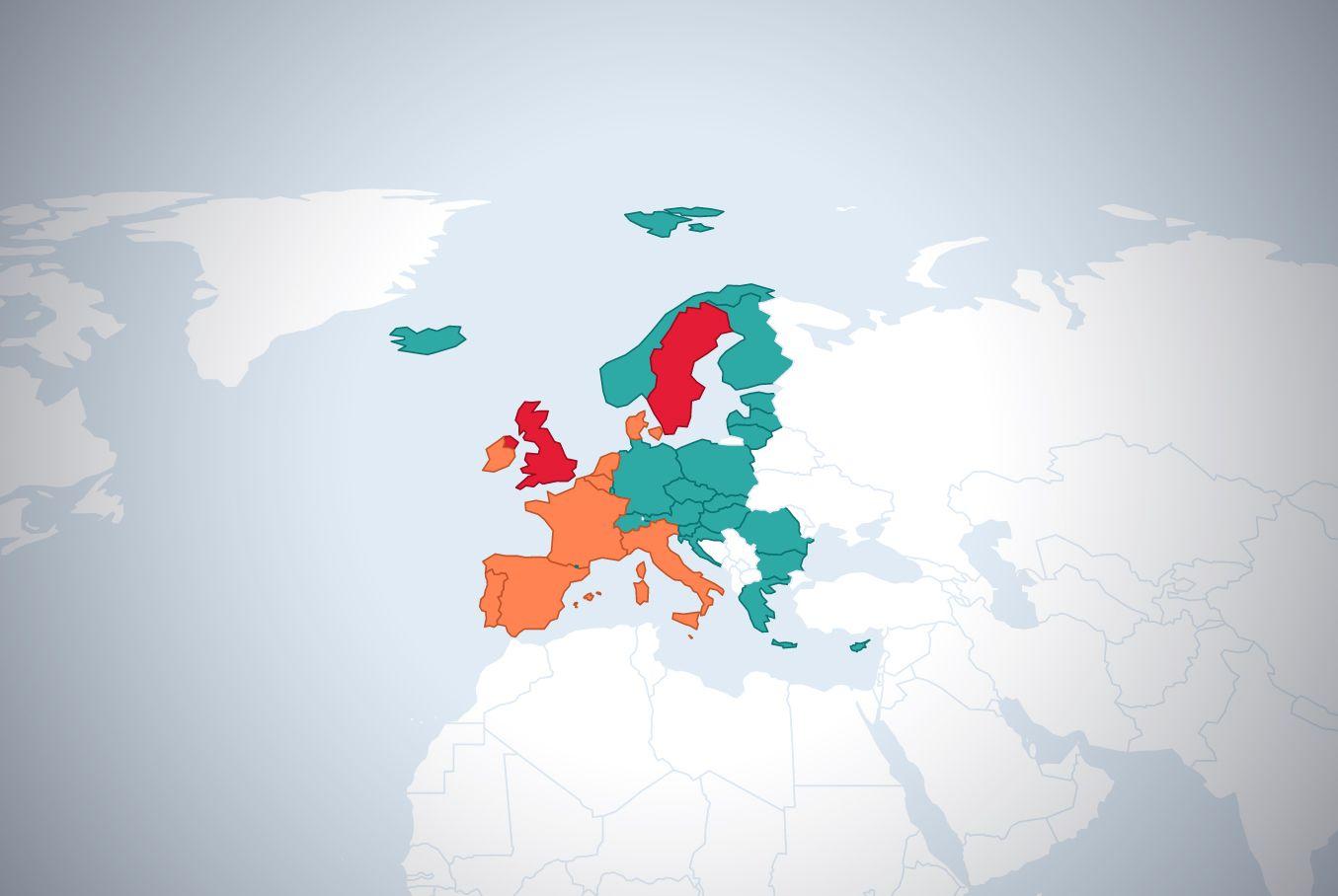 Kde máte zelenou a kde červenou? Do těchto zemí lze bez omezení vycestovat