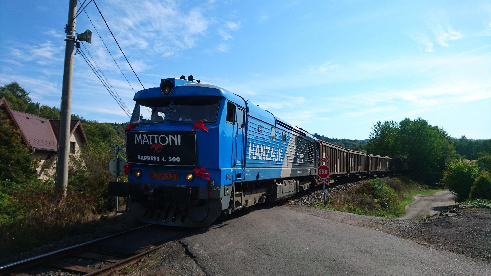 KMV Transport Minerals On Rail Photo Navva