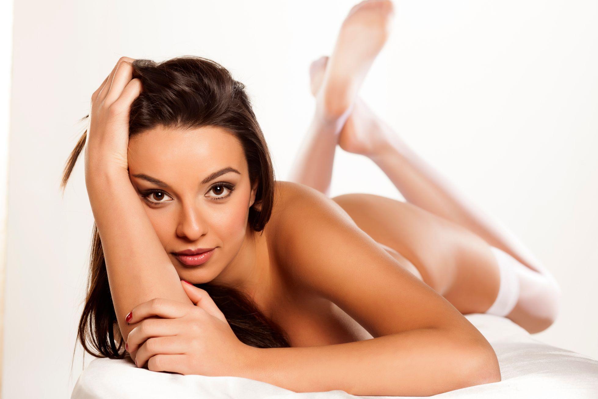 prirodni klin krásné nahé ženy