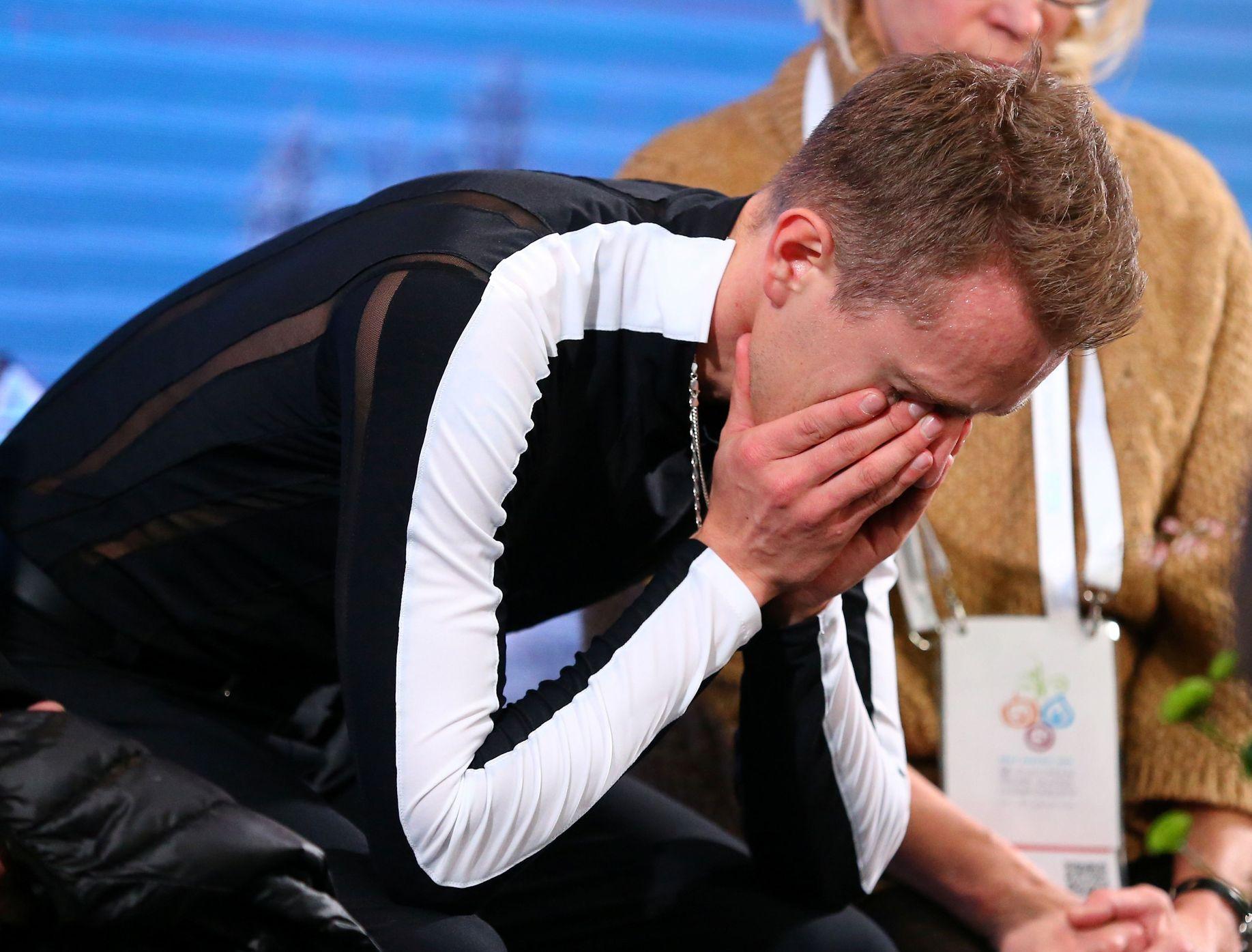 Březinova sportovní tragédie. Jako lídr zpackal volnou jízdu, po pádech skončil sedmý