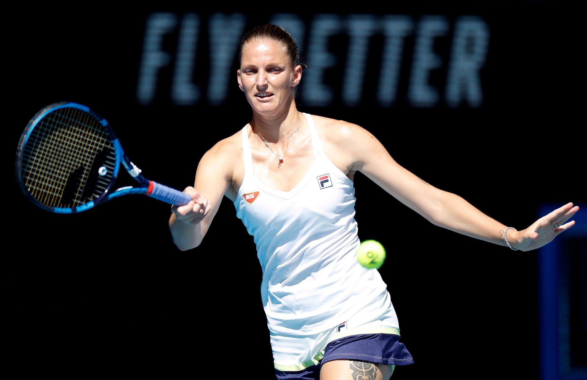 Plíšková hraje v Dauhá o semifinále, vyzve ji Američanka Pegulaová