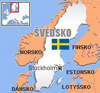 Výsledek obrázku pro švédsko mapa