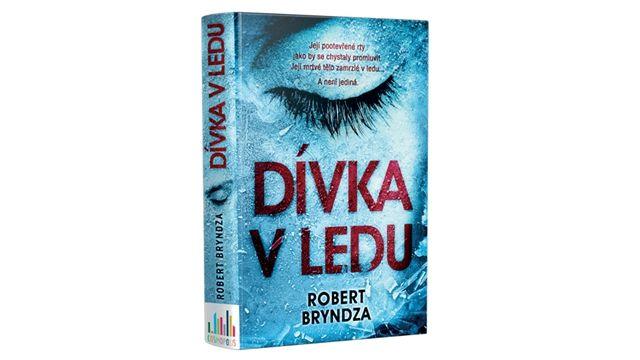 Kniha Dívka v ledu (Robert Bryndza)