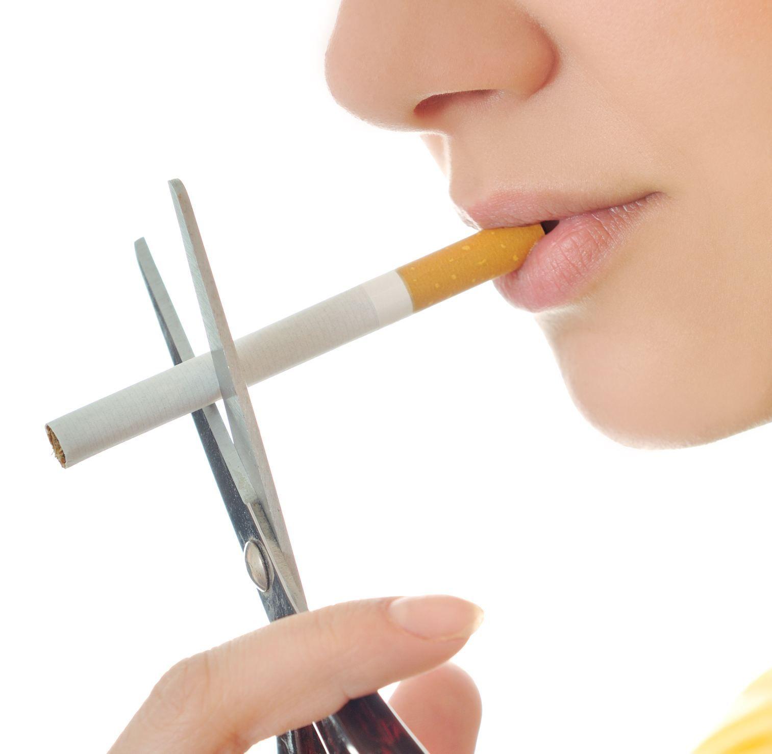 velký ženy kouření