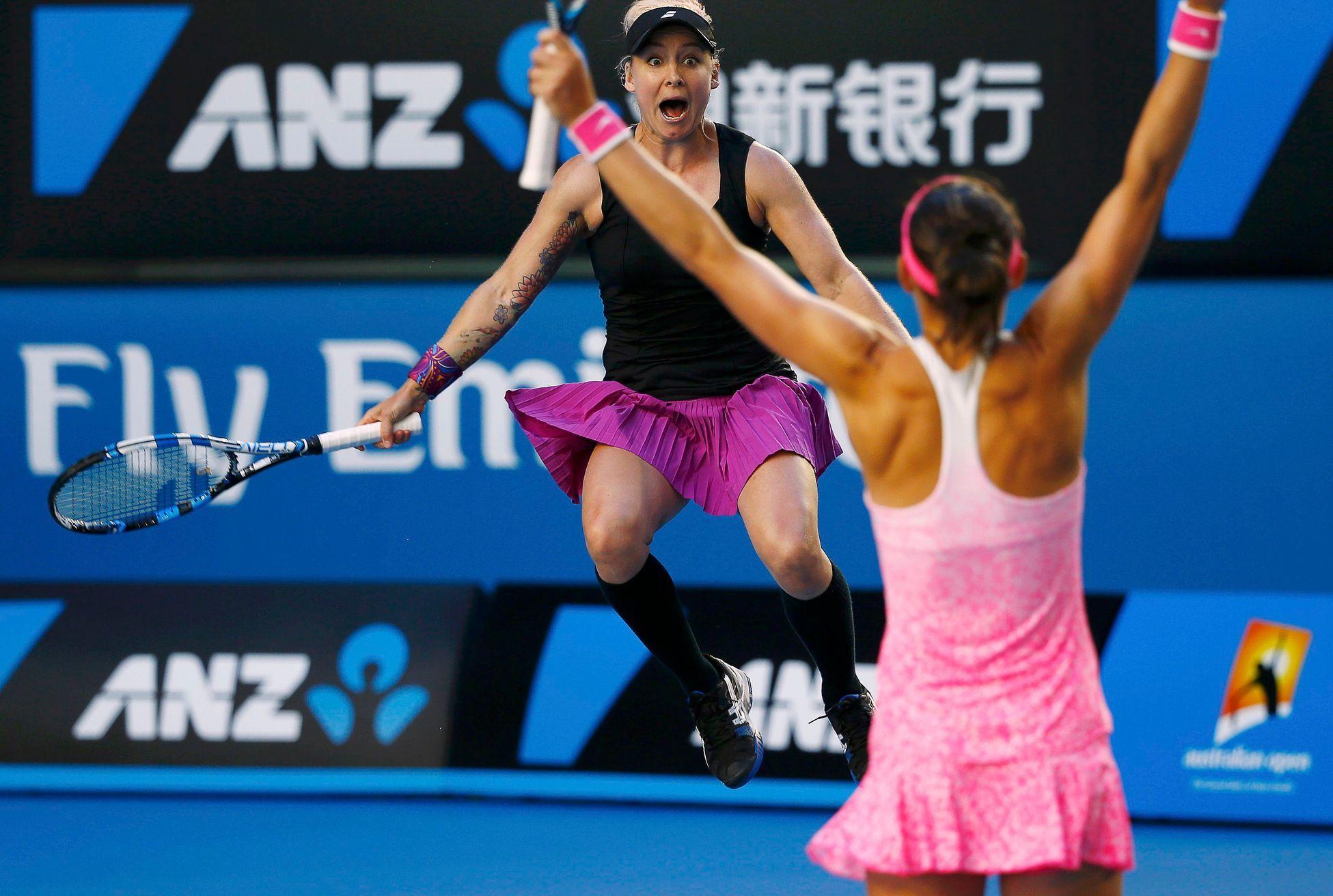 Šafářová s Mattekovou-Sandsovou si poradily s Ruskami a postoupily do  finále US Open - Aktuálně.cz d8e3582081