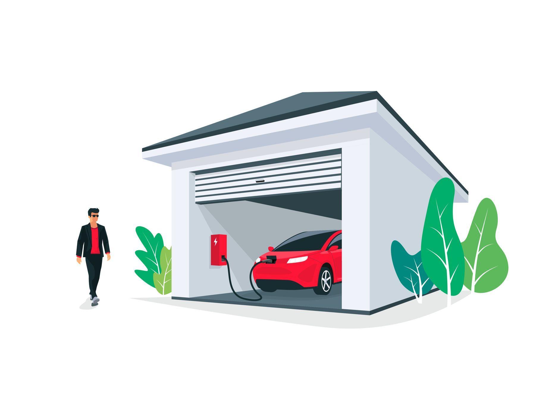 """Domácí """"benzinka"""" blízké budoucnosti: Jak připravit dům na nabíjení elektroauta?"""