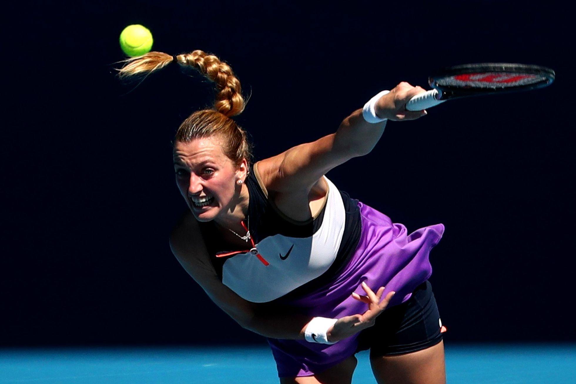 Kvitová – Kontaveitová. Česká tenistka má hned zkraje zápasu výhodu brejku
