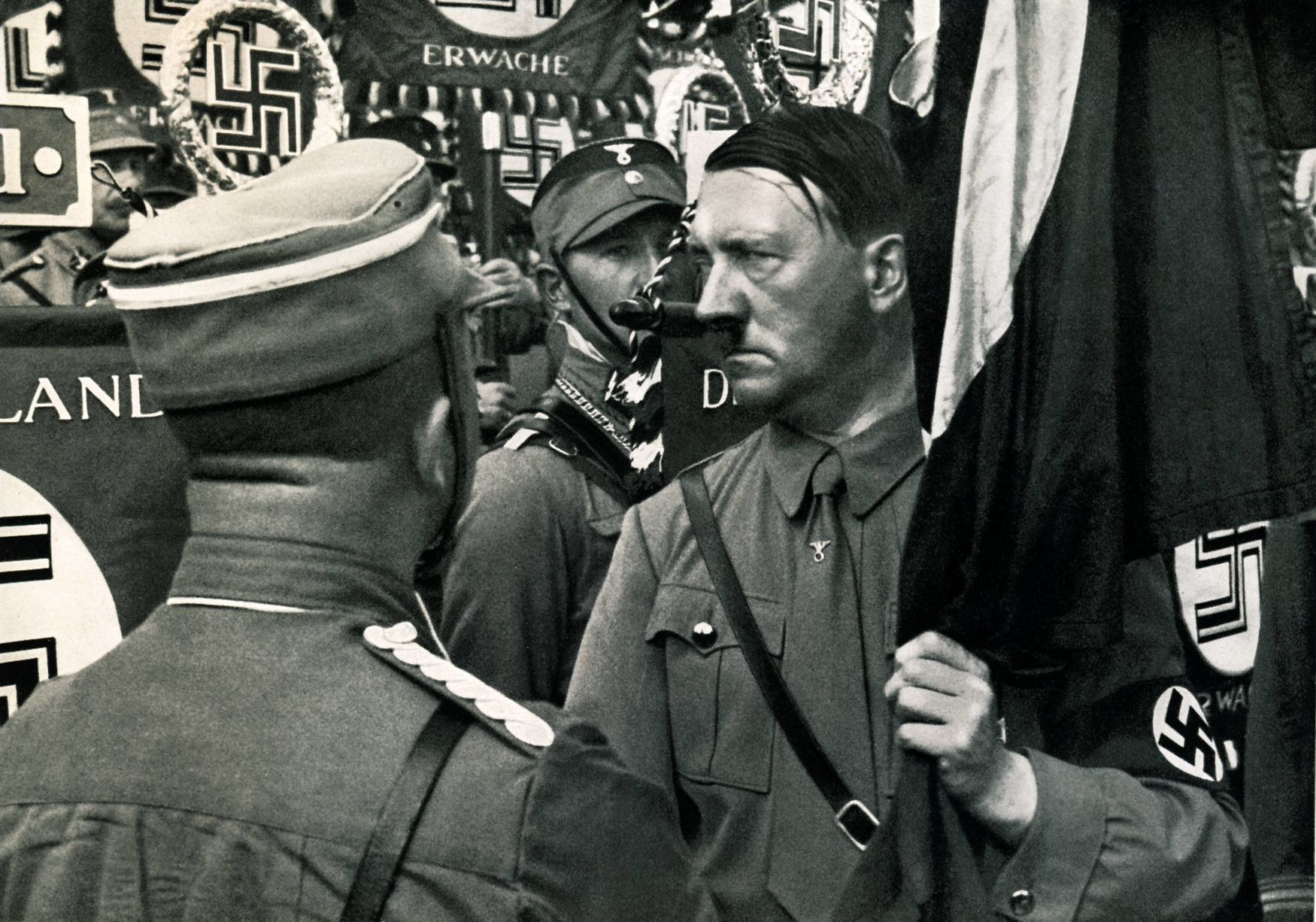 an analysis of hitlers following in his nazism quest At his inaugural ceremony, the audience gave the hitler salute and sang the horst wessel song, the anthem of the nazi party, before heidegger spoke about the glory and yet heidegger never publicly apologized for his early endorsement and service of hitler, nor fully reckoned with what his nazism.