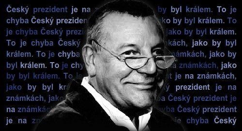 Prezident je na známkách, jako by byl králem. Chyba   Aktuálně.cz