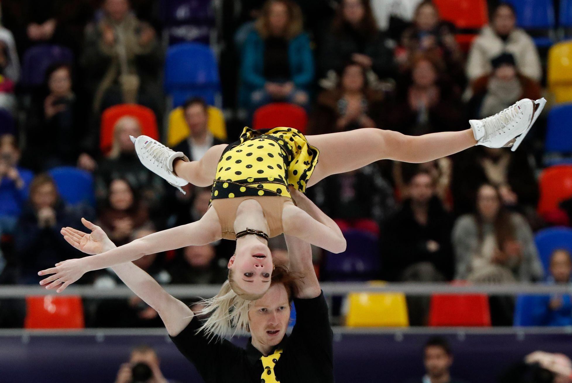 Tarasovová a Morozov obhájili zlato na ME v krasobruslení