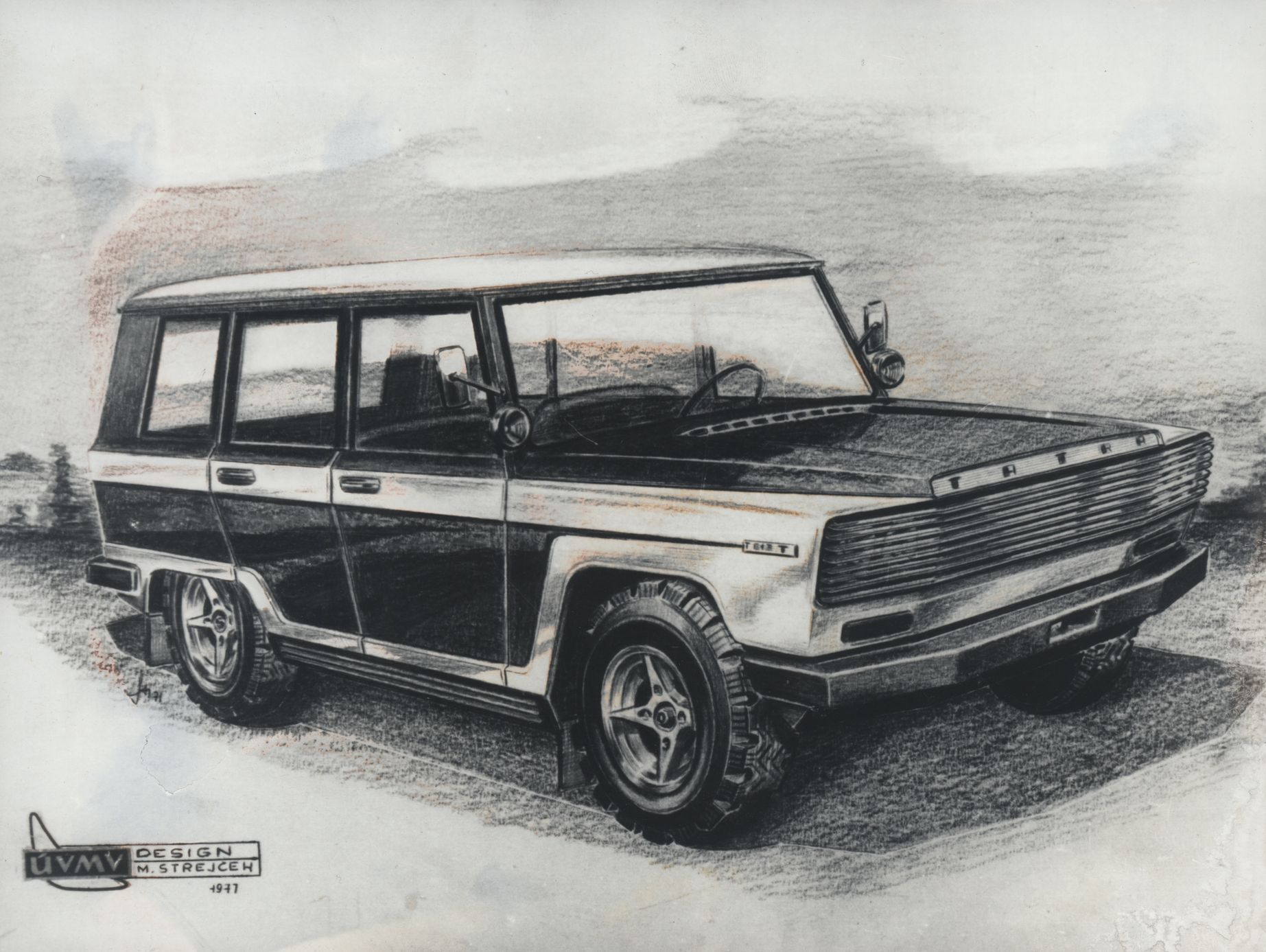Škoda Kodiaq nemusela být první velké SUV z Česka. V sedmdesátých letech ho  zvažovala Tatra - Aktuálně.cz 0d9e51cad0