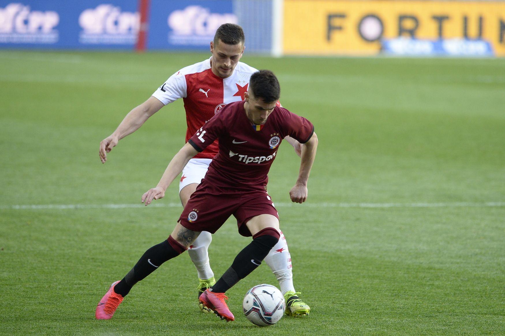 Slavia – Sparta 2:0. Sešívaní jsou blízko výhry, v závěru zvýšil náskok Tecl