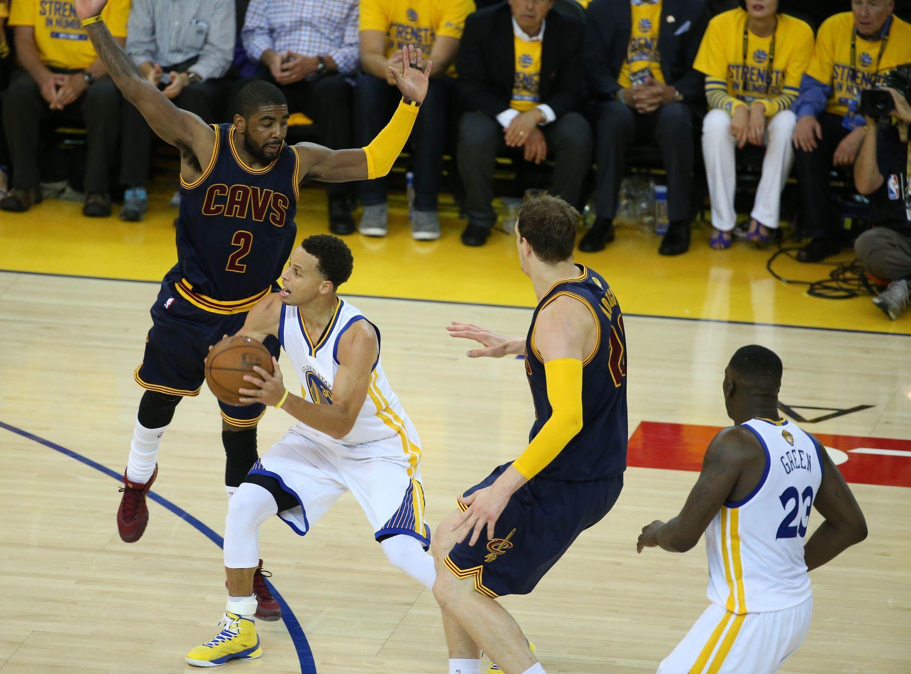 Finále NBA, Cleveland-Golden State: Draymond Green (23) z GS ...
