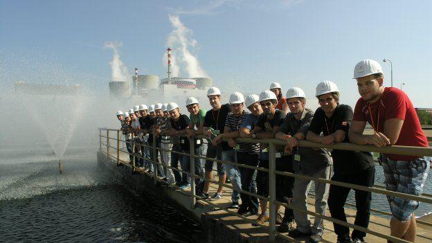 ČEZ programy pro mladé: Ze školy rovnou do velína jaderné elektrárny