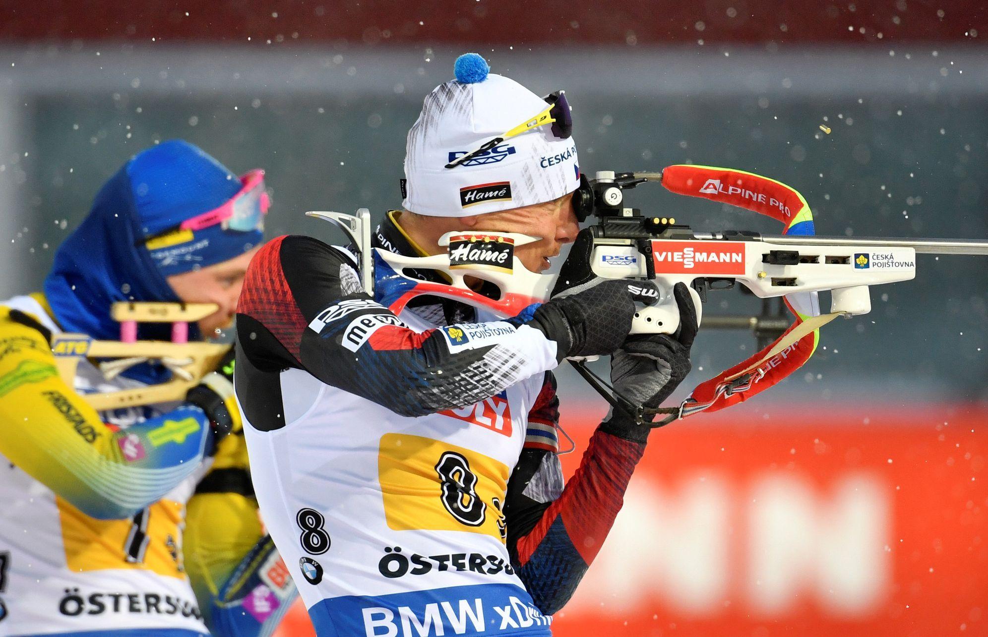 Předposledním závodem ve švédském Östersundu je štafeta mužů