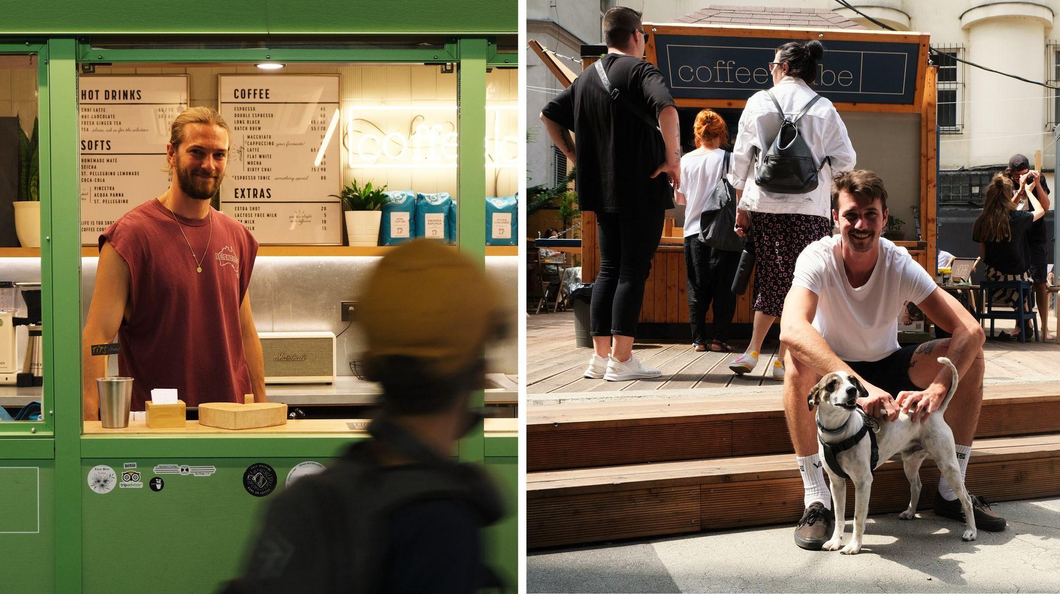 """""""Lunetici z Ameriky"""" oživili mrtvá místa v Praze. Sází na malý prostor a dobré kafe"""