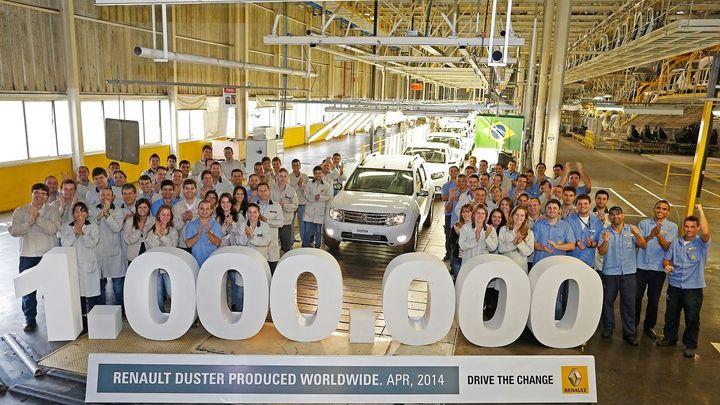 Nejprodávanějším renaultem ve světě je nyní Dacia Duster