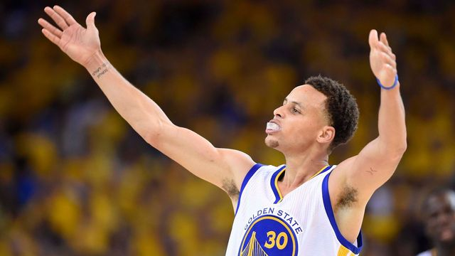 Stephen Curry z Golden State Warriors