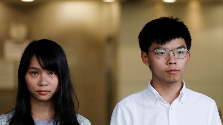 Přední hongkongský aktivista Joshua Wong dostal více než rok vězení kvůli demonstraci