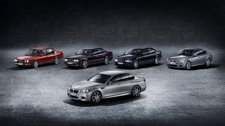 """BMW naděluje. 600 koní jako dárek ke třicetinám modelu """"M5"""""""