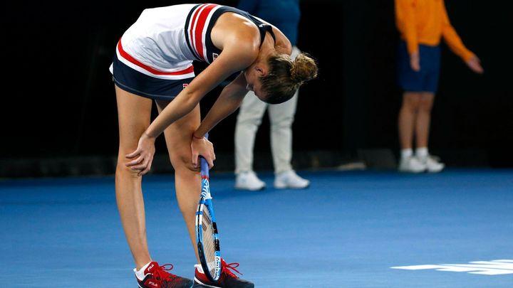 Plíšková se trápila. V Dubaji nestačila ve čtvrtfinále na Němku Kerberovou