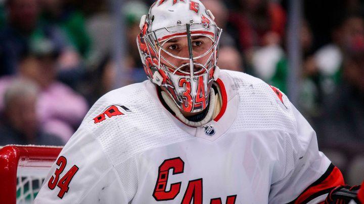 Mrázek se vrátil po zranění a zářil. V AHL předvedl 43 zákroků
