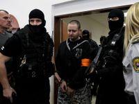 Kuciakův vrah Marček dostal u soudu 23 let vězení, na vyhlášení trestu nepřišel