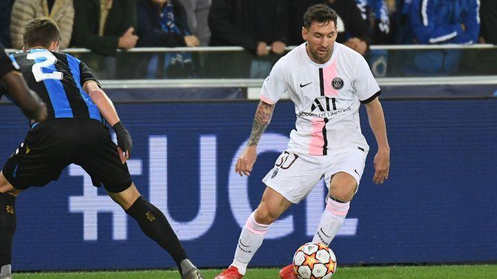 Liga mistrů: Messi trefil v Bruggách jen spojnici, v City padlo devět gólů; Zdroj foto: Reuters