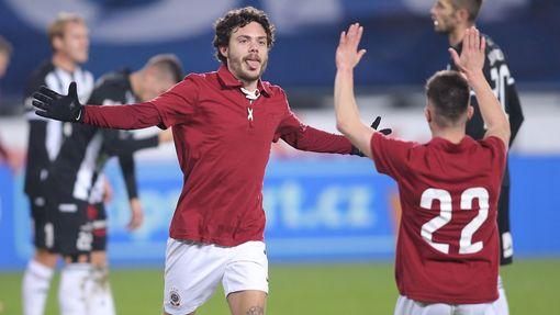 Sparta Praha - Dynamo České Budějovice, David Moberg Karlsson