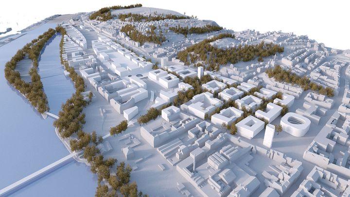 Na Smíchově vznikne nová čtvrť. Podívejte se, jak má vypadat