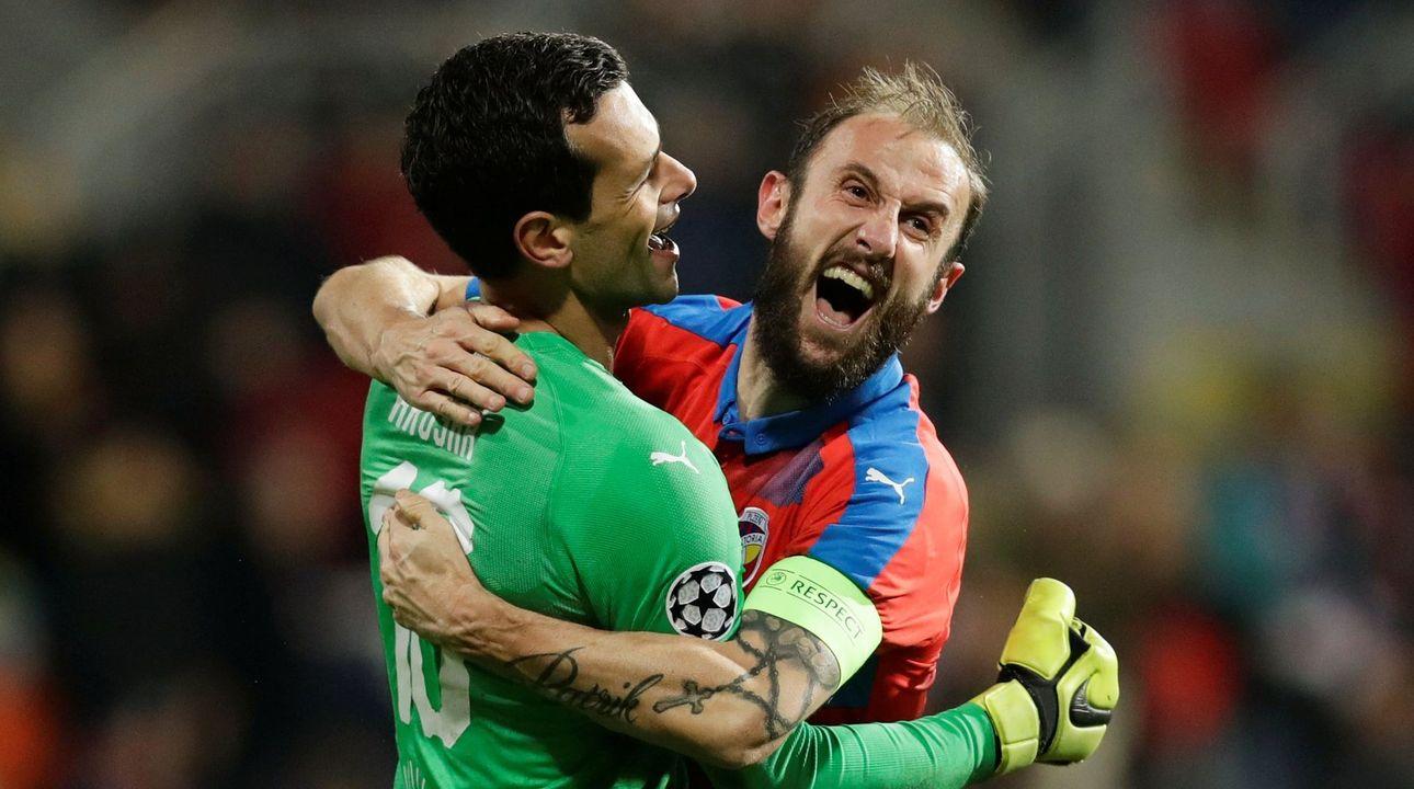 Plzeň skolila AS Řím a postupuje do Evropské ligy, CSKA nepomohla ani výhra na Realu