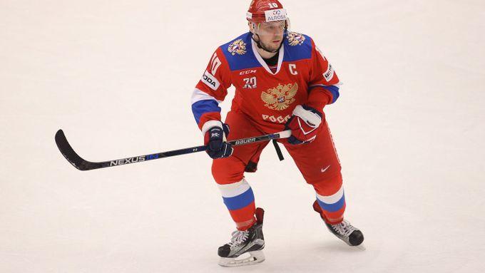 Veterán Mozjakin posunul rekord KHL, dosáhl už 900 bodů