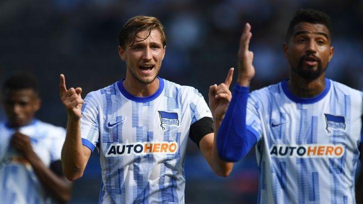 Hertha poprvé v sezoně vyhrála, Darida se podílel na dvou brankách; Zdroj foto: Reuters