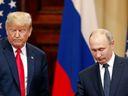 Putin Trumpovi navrhl uspořádat referendum v Donbasu, je pozvaný do Washingtonu