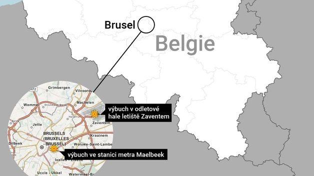 výbuchy v Bruselu