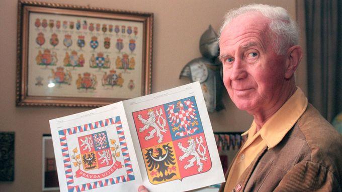 Vyjde stěžejní kniha heraldika Jiřího Loudy, předmluvu napsal princ Charles