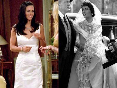 Svatby jsou nedílnou součástí i častým vyvrcholením mnohých filmů a seriálů. Jaké ikonické róby oblékly na natáčení slavné herečky?