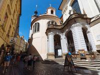 Foto: Vlašská kaple v pražské Karlově ulici se znovu otevře návštěvníkům. Po dlouhých dvaceti letech