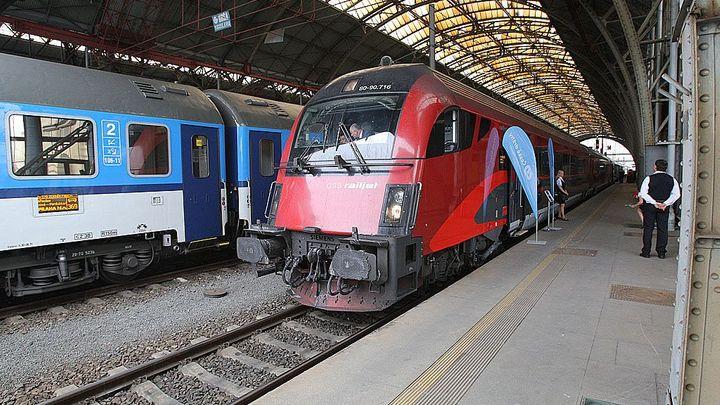 Rychlovlak Railjet ČD už zkouší provoz s cestujícími