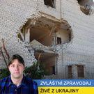 Reportáž z Ukrajiny: Palba za sebou nechala nemocnici duchů