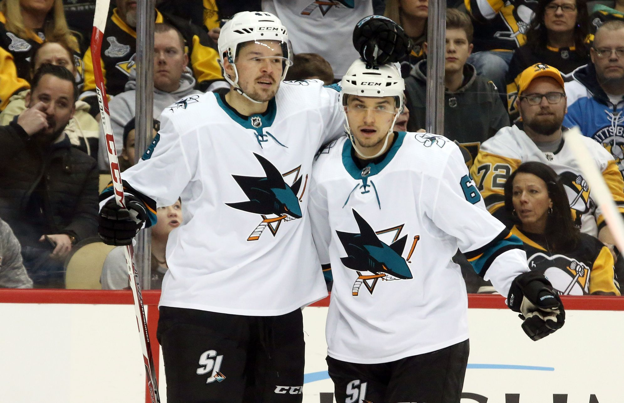 NHL: San Jose Sharks vs Pittsburgh Penguins