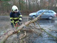 Do Česka opět míří silný vítr, na horách bude mít sílu orkánu