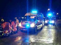 Fotogalerie: Hasiči po měsíci zveřejnili fotky z nehody policejního supervozu s Krulišem