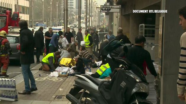Brusel - teroristický útok