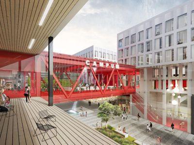Foto: Česká spořitelna chystá nové sídlo. Podívejte se, jaká stavba může oživit Smíchov