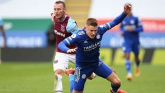 Leicester - West Ham United (Coufal, Barnes)