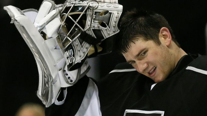 Jdeme na to. Zdeptá golman Los Angeles Jonathan Quick i Chicago?