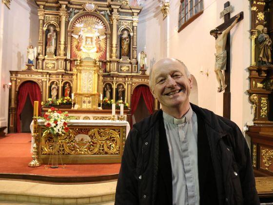 Karel Moravec je děkan-rektor poutního kostela na Hoře Matky Boží v Králíkách