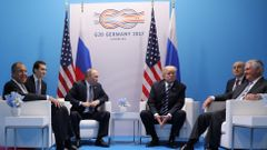 Summit G20-Trump, Putin