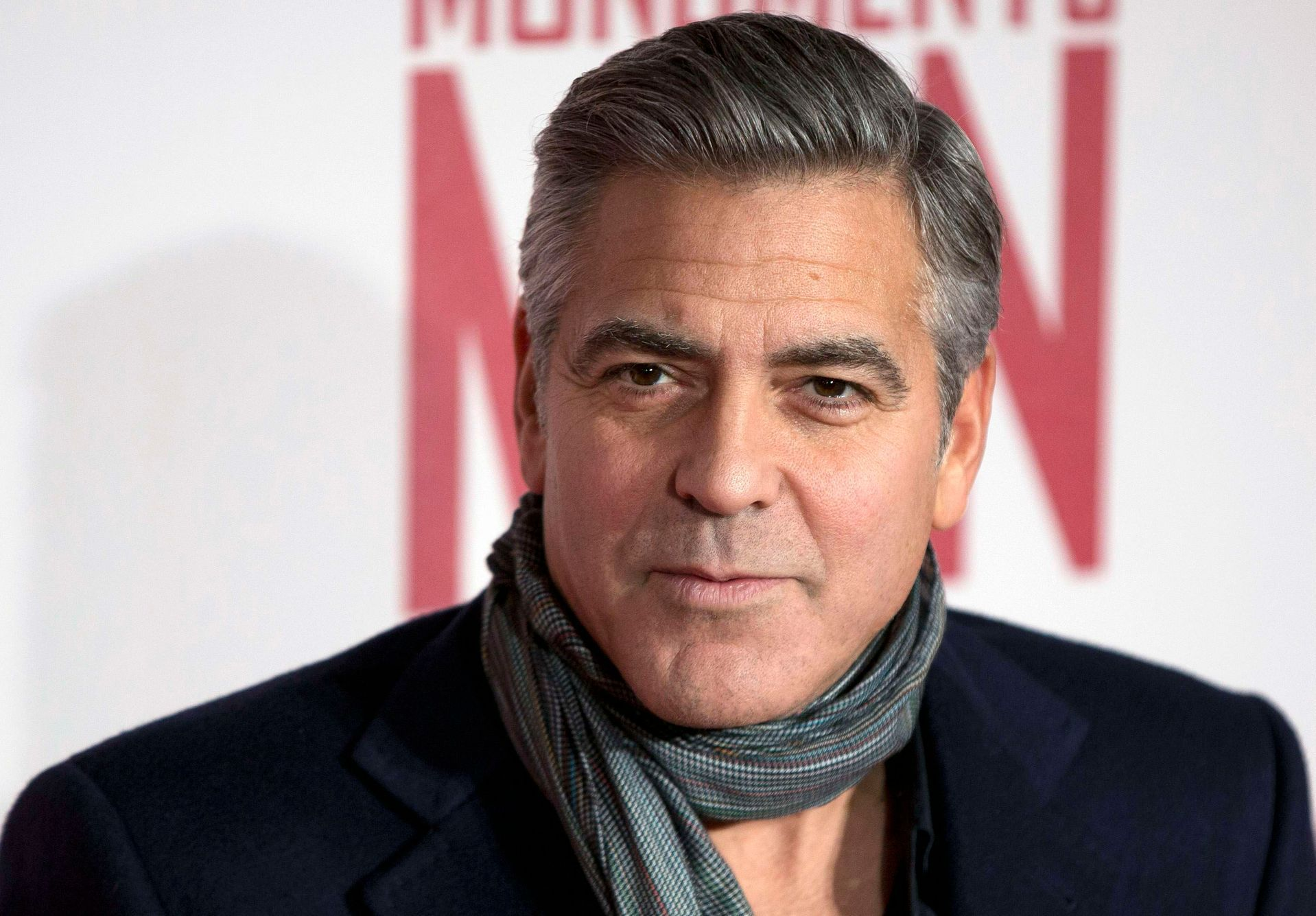 "File photo of actor and director George Clooney arriving for the UK premiere of his film ""The Monuments Men"" in London"